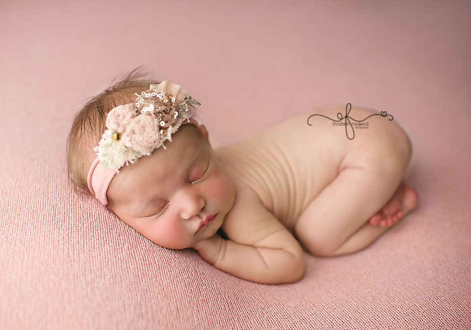 Bum up pose | CT Newborn Photographer Elizabeth Frederick Photoraphy